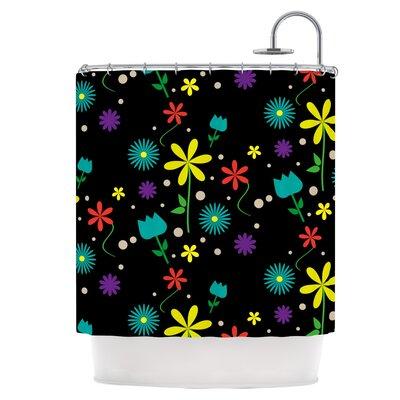 Flower I Shower Curtain