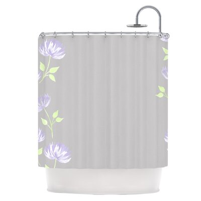 Flower II Shower Curtain