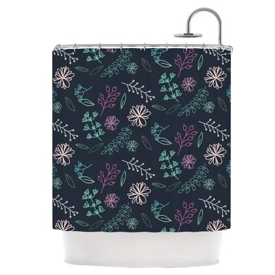 Flower III Shower Curtain