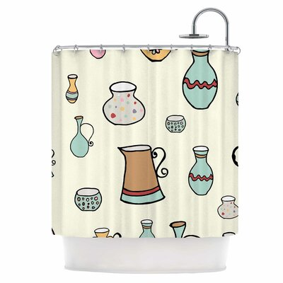 Jugs Shower Curtain