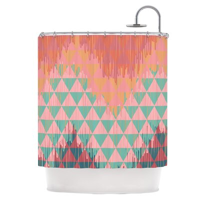 Ikat Geometrie II Shower Curtain