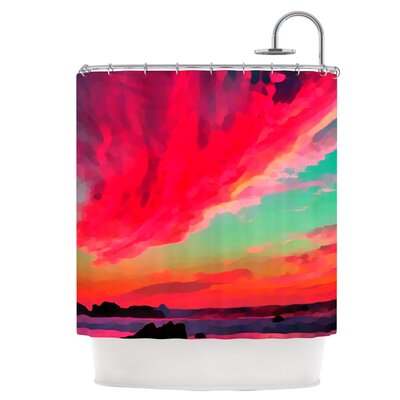 Apetto Allalba Shower Curtain
