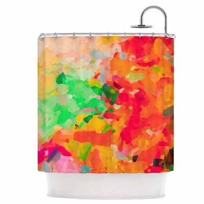La Rochelle-Abstract Shower Curtain