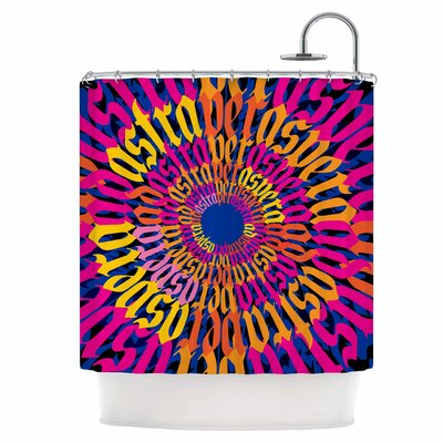Ad Astra Per Aspera Mandala Shower Curtain