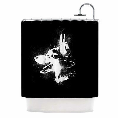 Watchdog Shower Curtain