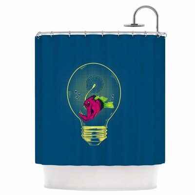 Anglerfish Bulb Shower Curtain