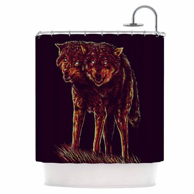 2head Shower Curtain