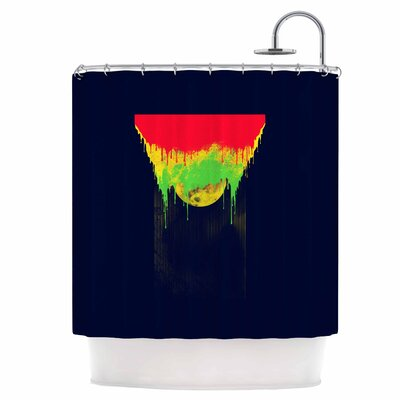 Began Closed Shower Curtain