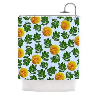 More Marigold Shower Curtain