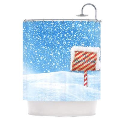 Snow�Shower Curtain