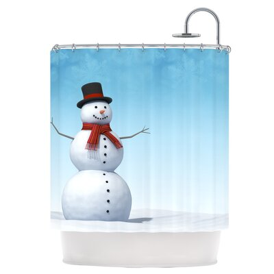 Feelin Frosty Shower Curtain
