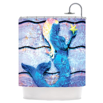 Mermaid Starlight Shower Curtain
