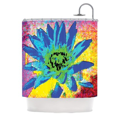 Wild Lotus Shower Curtain