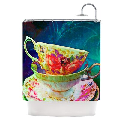 Mad Hatters T-Party V Shower Curtain
