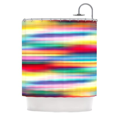 Blurry Cool Shower Curtain