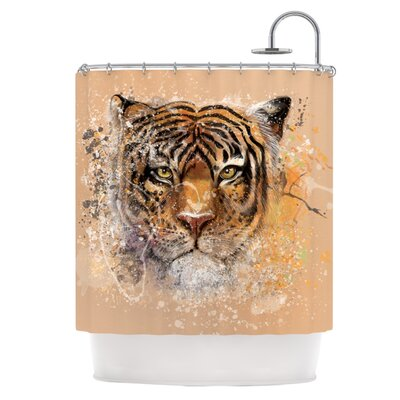 My Tiger Shower Curtain