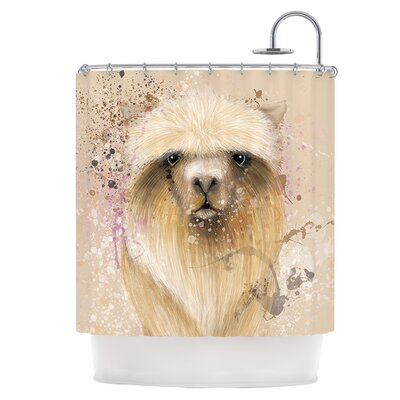Llama Me Shower Curtain