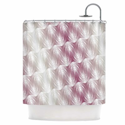 Stripe Palms Shower Curtain
