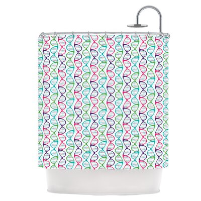 Geeky DNA Shower Curtain