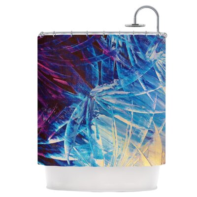 Night Flowers Shower Curtain