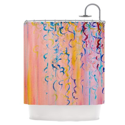 Cotton Candy Whispers Shower Curtain