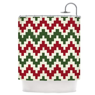 Christmas Gram Shower Curtain