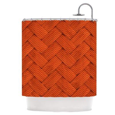 Chevron Weave Shower Curtain