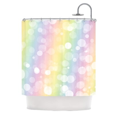 Pastel Prism Shower Curtain