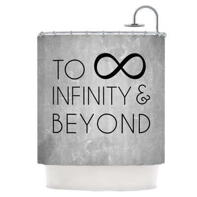 To Infinity & Beyond Shower Curtain