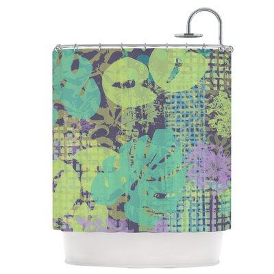 Verdure Collage Shower Curtain