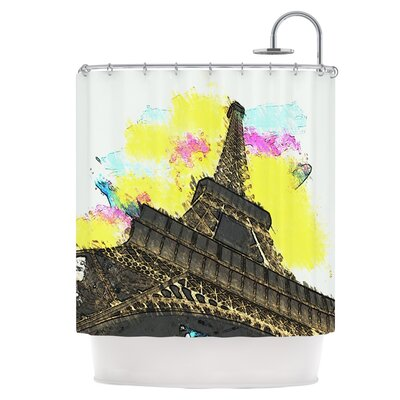 Eifel - Bon Jour Shower Curtain