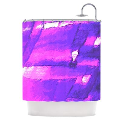 Suenos en Purpura Shower Curtain