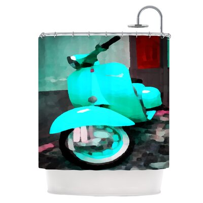 Vespa I Shower Curtain