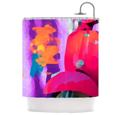Vespa II Shower Curtain