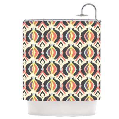 Bohemian Ikat Shower Curtain