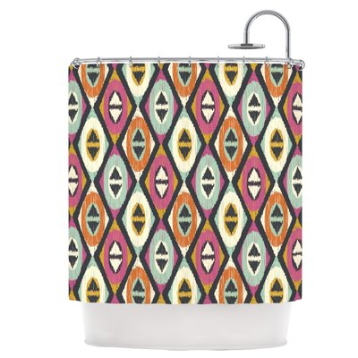 Sequoyah Diamonds Shower Curtain