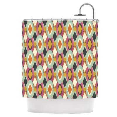 Sequoyah Ovals Shower Curtain