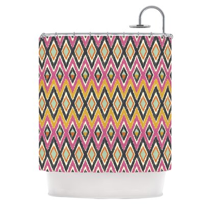 Sequoyah Tribals Shower Curtain