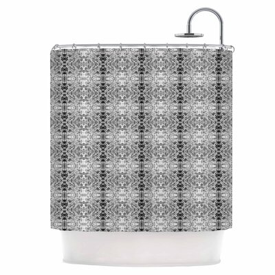 Rage Against The Machine BW Shower Curtain