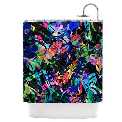 Flora Splash Shower Curtain