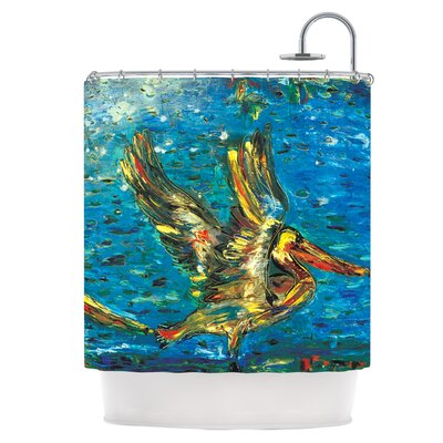 Seabirds Shower Curtain