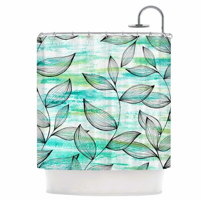 Leaf Garden Shower Curtain