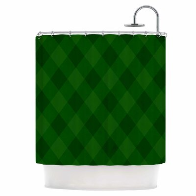 Overgrowth Shower Curtain