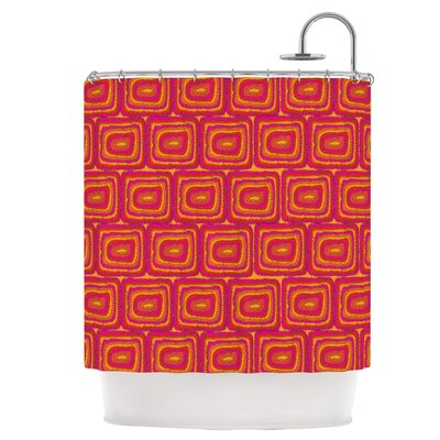 Bright Squares Shower Curtain