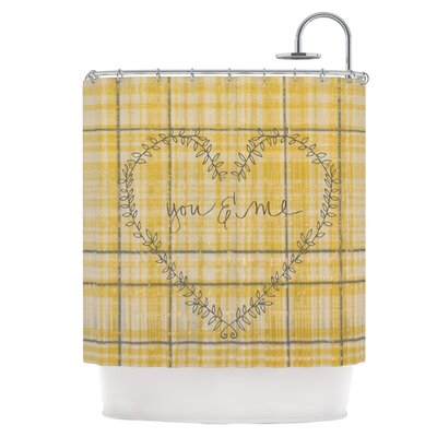 You & Me Shower Curtain