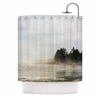 He Who Seeks Beauty Shower Curtain