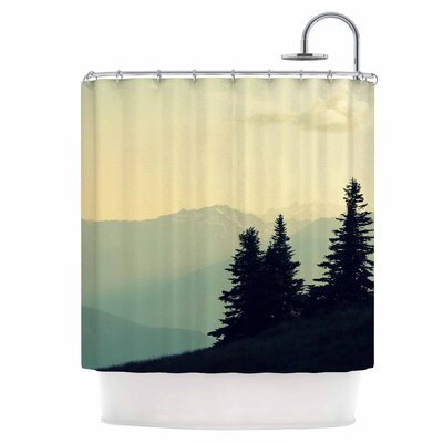 A Wonderful World Shower Curtain