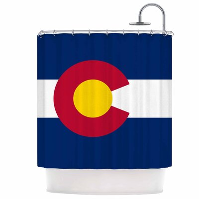 Flag of Colorado Shower Curtain