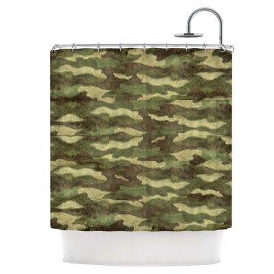 Dirty Camo Shower Curtain
