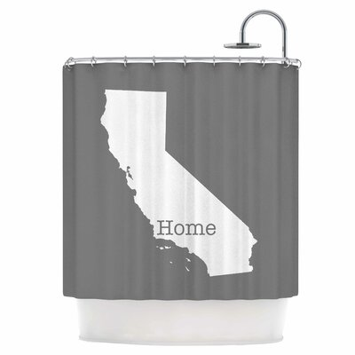 California is Home Shower Curtain
